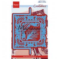 Marianne D Creatable Anja's vertical folding die (vierkant) LR0571