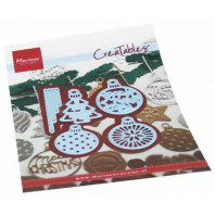 Marianne D Creatable Merry Christmas ballen  LR0682