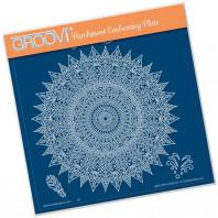 Groovi Plate A5 TINA'S SPIRITUAL LUCK MANDALA 41526