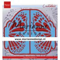 Marianne D Creatable folding die hek vlinder LR0638 73x135 mm (01-20)