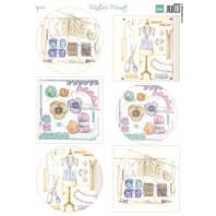 Marianne D Decoupage Mattie's Mooiste - Haken MB0189 A4 (11-20)