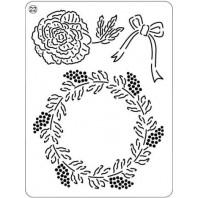 Mini grid 22 Kerst Roos