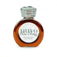 Nuvo Pure sheen glitter - Spiced apricot 727N