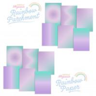 RAINBOW DUO - PARCHMENT & PAPER - LAVENDER FIELDS A4