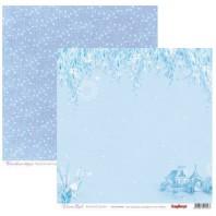 Scrapbookpapier dubbelzijdig, Dream Land blauw