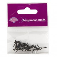 Pergamano Brads 3mm Black  40st