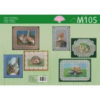 M 105 bosdieren