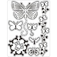 Mini grid 15 Vlinders