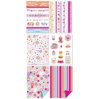 Pergamano Papier Collectie Vrolijk Feest 6 Vel A4