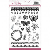 Clear Stamps - Precious Marieke - Pretty Flowers