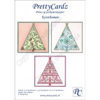 PrettyCardz set Christmas Trees