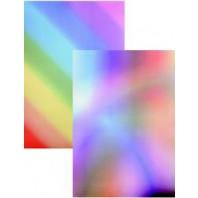 Perkamentpapier regenboog diagonaal 61486