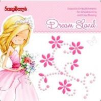 Plakparelsticker dream land roze