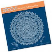 Groovi Plate A5 TINA'S SPIRITUAL STRENGTH MANDALA  41525
