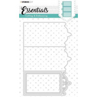 Studio Light Embossing Die Cut Essentials nr.263 STENCILSL263