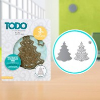 TODO Die Decorative Christmas Tree (370370)