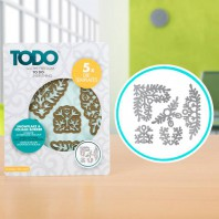 TODO Die Set Snowflake and Foliage Borders (370364)