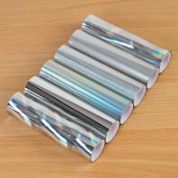 TODO Pack Of 6 Silver Tonal Foils