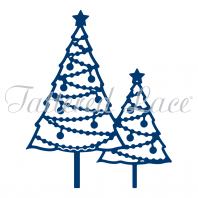 Tattered Lace Die Earl Christmas Trees D1342