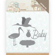 Dies - Yvonne Creations - Newborn - Stork