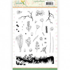 Clear Stamps - Jeanine's Art Welcome Spring