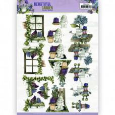 3D Knipvel - Precious Marieke - Beautiful Garden - Garden Gnome 11635