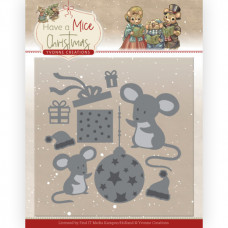 Dies - Yvonne Creations - Have a Mice Christmas - Christmas Mouse Gift 10252