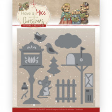 Dies - Yvonne Creations - Have a Mice Christmas - Christmas Mouse Letters 10251