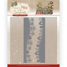 Dies - Yvonne Creations - Have a Mice Christmas - Christmas Gift Borders 10250