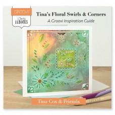 Groovi Clarity II Book: TINA'S FLORAL SWIRLS & CORNERS