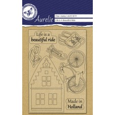 Aurelie Clear Stamp Life is a Beautifull Ride