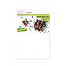 CraftEmotions WaterColorCard - briljant wit 10 vl A4 - 350 gr