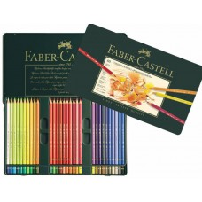 Faber Castell Kleurpotloden Polychromos set a 60 stuks blik