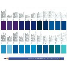 Faber Castell Polychromos kleurpotlood per stuk  blauw en paars tinten