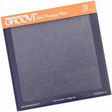 Groovi Grid Piercing Plate Straight