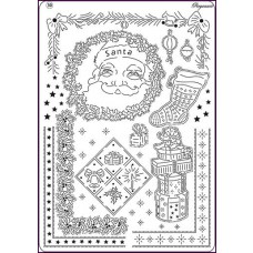 Multi grid 30 victoriaanse kerst