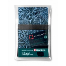 Sakura Zentangle set 20 tiles black