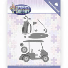 Dies - Yvonne Creations - Funky Hobbies - Golf