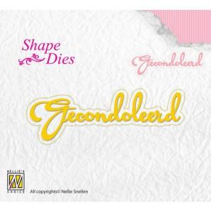 Nellies Choice Shape Die - NL - Gecondoleerd SD101