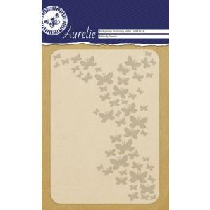 Aurelie embossing folder Butterfly Dreams Background