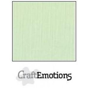 CraftEmotions linnenkarton 10 vel groen LHC-09 A4 250gr