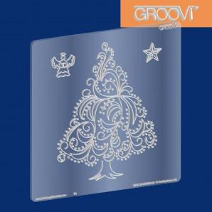 Groovi Plate Christmas Tree