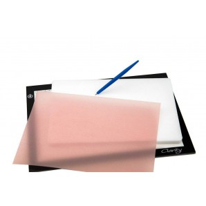 Groovi Translucent White Super Foam A4