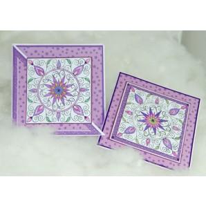 Pakket Kaarten met Clear Stamp Sterbloem Gerti Hofman design