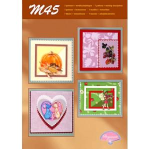 M 45 parchment 3-D