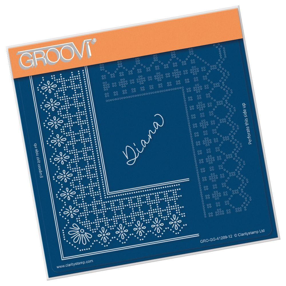 Groovi Grid Piercing Plate A5 Princess Diana Grid Duet Gro Gg 41289 12 Pergamanoshop Nl