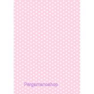 Parchment paper stars light pink 61574