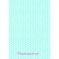 Parchment paper stars light blue 61575