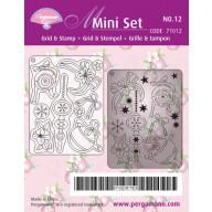 Mini set 12 baubles