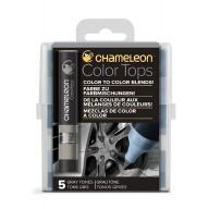 Chameleon Color Tops Grey Tones